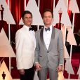 Neil Patrick Harris et David Burtka à la 87e cérémonie des Oscars à Hollywood, le 22 février 2015.