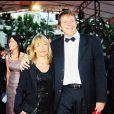 Pierre Bachelet et sa femme Françoise dite Fanfan au 53e Festival de Cannes, le 19 mai 2000.