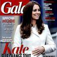 Kate Middleton en couverture de Gala, en kiosques le 25 février 2015.