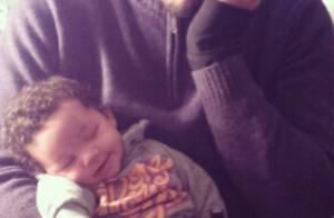 JoeyStarr papa : Photo craquante avec son bébé Marcello dans les bras