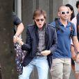 Exclusive - Paul McCartney sort du Copacabana Palace en compagnie de sa femme Nancy Shevell le 12 novembre 2014 au Brésil
