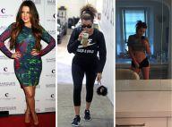 Khloe Kardashian accro au sport: Affinée, abdos béton, bluffante transformation