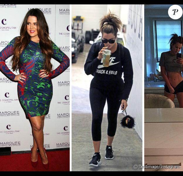 Khloe Kardashian s'est transformée en trois ans. L'ancienne ronde a aujourd'hui un corps des plus sculptés. Et elle affiche fièrement sur les réseaux sociaux ses nouvelles formes.