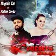 Affiche des concerts de Magalie Vaé et Halim Corto. Février 2015
