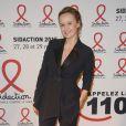 """Caroline Roux - Soirée de lancement du """"Sidaction 2015"""" au Musée du Quai Branly à Paris, le 2 mars 2015"""