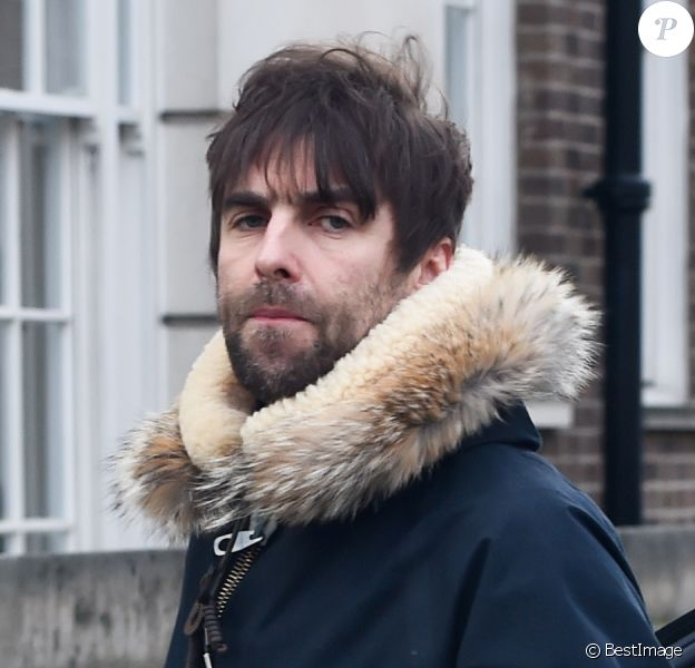 Liam Gallagher dans les rues de Londres. Le 3 février 2015.