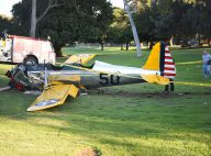 Harrison Ford victime d'un impressionnant crash d'avion !