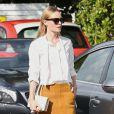 Kate Bosworth se promène dans les rues de Melrose avec son mari Michael Polish à Los Angeles, le 17 décembre 2014 '