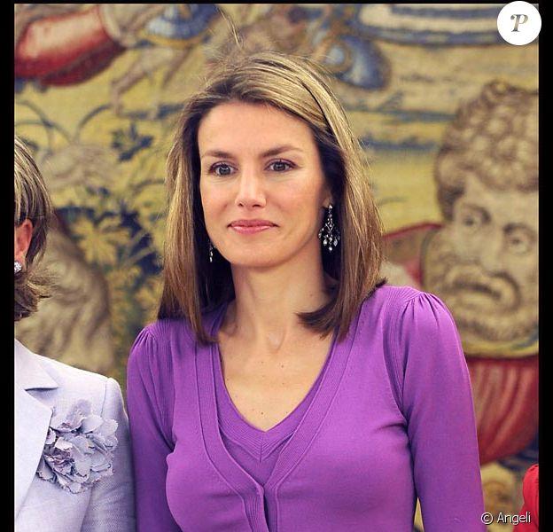 La princesse Letizia d'Espagne