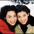 Archives - Marie et Laurette Fugain, à Courchevel en 1999