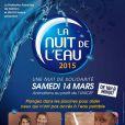 Affiche de la 8e édition de La Nuit de l'Eau