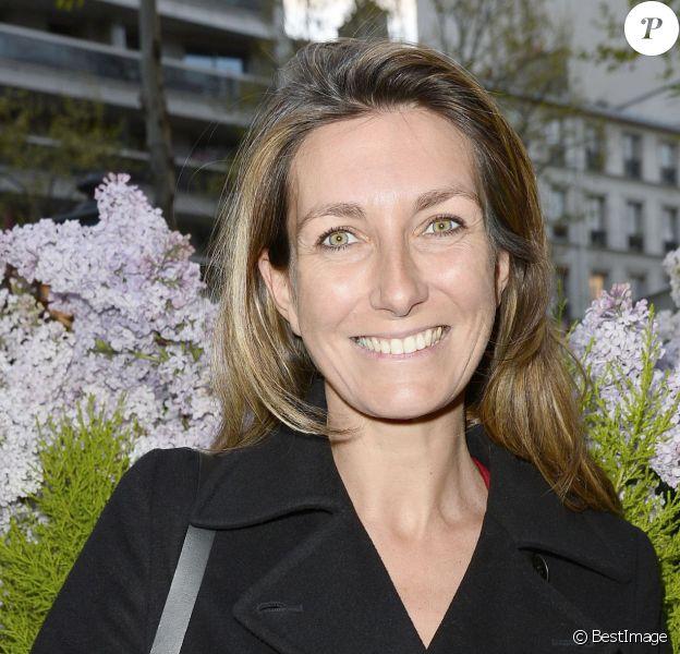 Info - Anne-Claire Coudray est enceinte - Anne-Claire Coudray - Prix de la Closerie des Lilas 2014 à Paris, le 8 avril 2014.