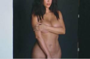 Kim Kardashian : Toute nue en photos, avant de tomber ''à nouveau enceinte''