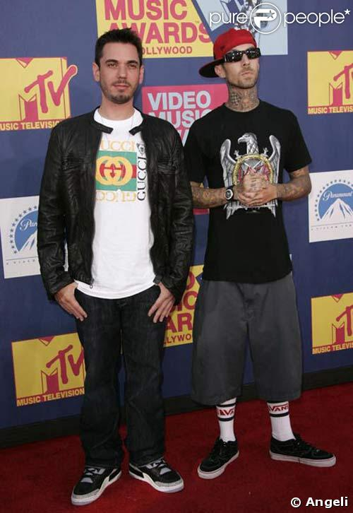 DJ AM et Travis Barker