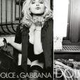 """Madonna pour Dolce & Gabbana en 2010."""