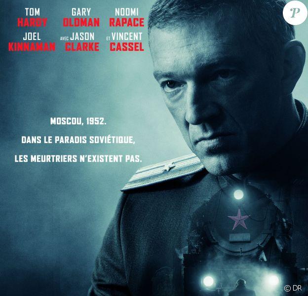 Affiche du film Enfant 44 avec Vincent Cassel