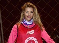 Camille Cerf : Miss France 2015 gravit la Tour Eiffel, belle et sportive !