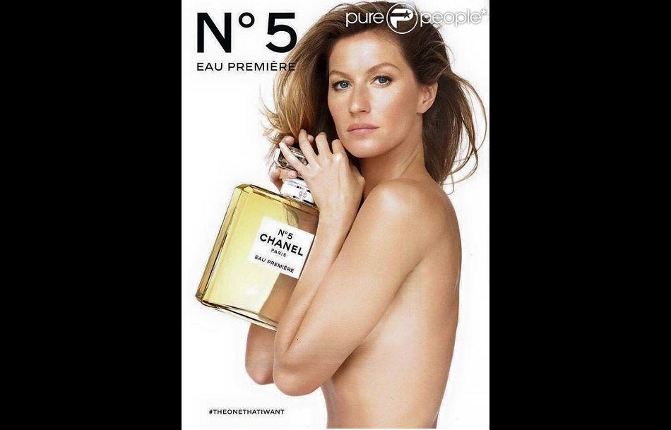 Gisele Bündchen dans la nouvelle campagne Chanel N°5