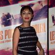 Saïda Jawad, à l'avant-première du film Les Portes du soleil au Grand Rex à Paris, le 10 mars 2015.