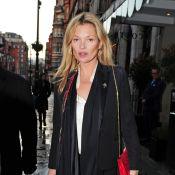 Kate Moss : Ultrastylée et discrète pour une séance shopping de luxe