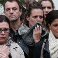 Laure Manaudou et Coralie Balmy lors des obsèques de Camille Muffat en l'église Saint Jean-Baptiste-Le Vœu à Nice, le 25 mars 2015March 9, 2015.25/03/2015 - Nice