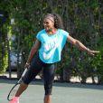 Serena Williams lors du All-Star Tennis Charity Event au Ritz Carlton de Key Biscayne, le 24 mars 2015