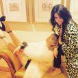 Taylor Swift à Las Vegas avec Selena Gomez, sur Instagram le 8 mars 2015