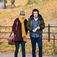 Harry Styles et Taylor Swift se promenent a Central Park a New York, le 2 decembre 2012.