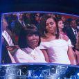 Cicely Tyson et Michelle Obama lors de la cérémonie Black Girls Rock au NJ Performing Arts Center. Newark, le 28 mars 2015.
