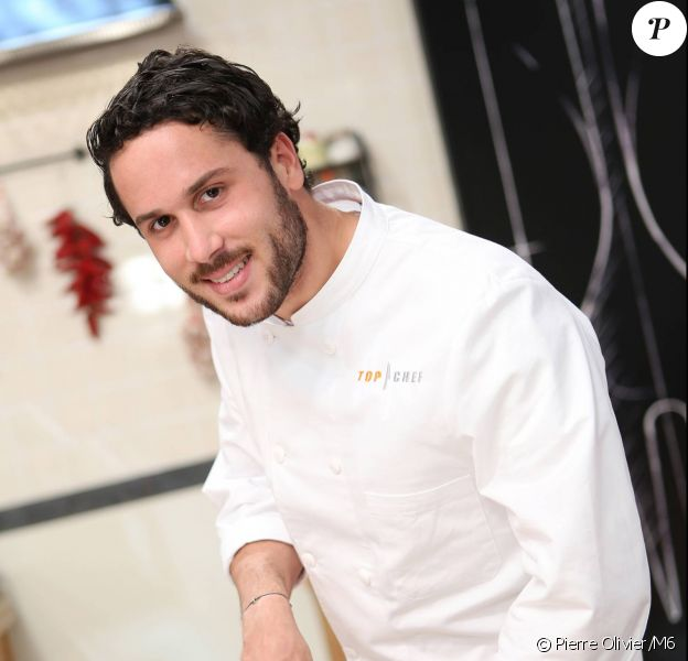 Florian Chatelard, candidat à Top Chef 2015.