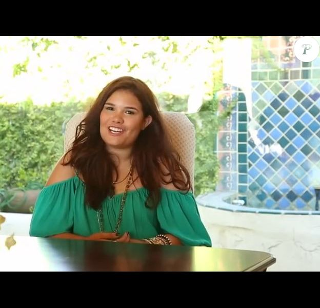 La jeune Madison De La Garza dans la campagne vidéo Healthy is the new skinny. Mars 2015