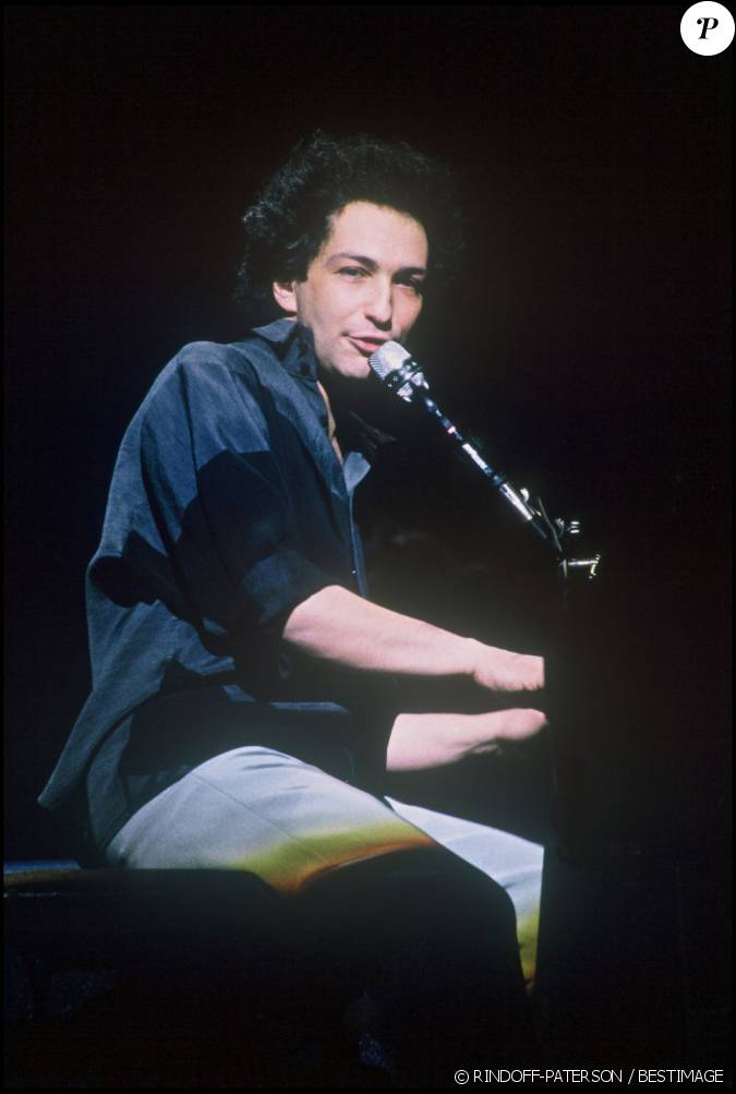 Michel berger en concert paris en 1986 - Fils de michel berger ...