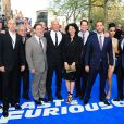 Le cast de Fast And Furious 6 à Londres le 7 mai 2013.