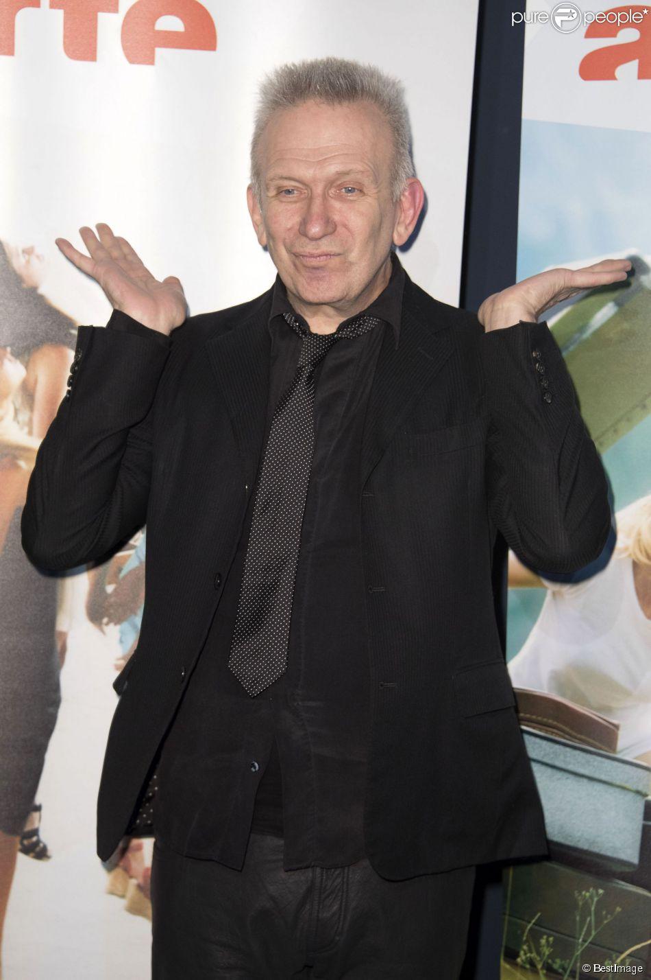 "Jean Paul Gaultier - Première au cinéma du documentaire Arte ""Jean Paul Gaultier travaille"" à Berlin, le 16 mars 2015"