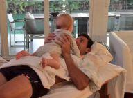 Novak Djokovic, papa heureux : Tendre moment avec son fils Stefan