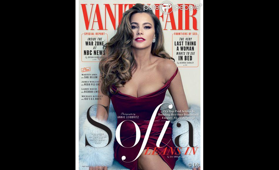 Retrouvez l'intégralité de l'interview de Sofia Vergara dans le prochain numéro de Vanity Fair, en kiosque le 14 avril prochain.