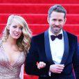 "Blake Lively et son mari Ryan Reynolds lors de la soirée du Met Ball / Costume Institute Gala 2014: ""Charles James: Beyond Fashion"" à New York. Le 5 mai 2014."