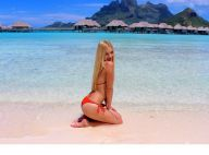 Ava Sambora : La fille d'Heather Locklear, bombe en maillot à Bora Bora
