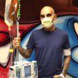 EXCLUSIVITE - Christian Audigier, au Cedars-Sinai Hospital de Los Angeles, commence la chimiothérapie le 12 mars 2015