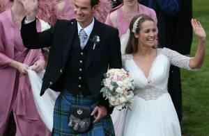 Andy Murray, marié : La star du tennis a dit oui à sa belle Kim Sears !