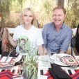 Zoe Kravitz, Stuart Vevers, Laura Brown et Jena Malone lors du Harpers Bazaar Brunch au Soho Desert House, La Quinta, le 11 avril 2015