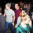 Robert Pattinson à la sortie du concert de sa fiancée FKA Twigs à Coachella, le 11 avril 2015