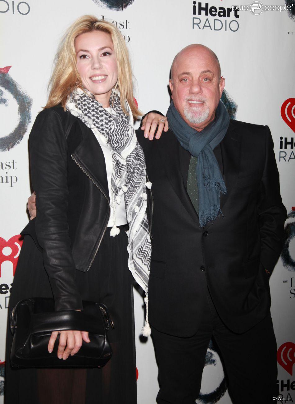 Billy Joel et sa compagne Alexis Roderick lors de la première de la comédie musicale 'The Last Ship', à Broadway au Neil Simon Theatre de New York le 26 octobre 2014