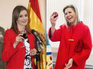 Letizia d'Espagne et Maxima des Pays-Bas : Toutes rouges pour un duel de look !