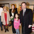 La princesse Madeleine de Suède, enceinte, et son mari Christopher O'Neill en visite à Gävle le 2 février 2015