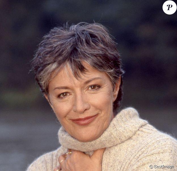 Anne-Marie Peysson pose en 1994.