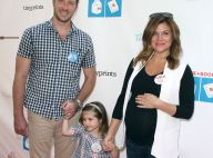 Tiffani Thiessen enceinte : Radieuse en famille, devant le beau Tom Felton