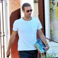 Chris Martin achète des livres à Brentwood le 2 juin 2014.