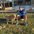Cristiano Ronaldo et son fils Cristiano, photo publiée le 23 février 2015 sur le compte Instagram de CR7