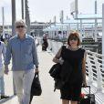 Alan Rickman et sa femme arrivent au 70eme festival international du film de Venise, La Mostra. Le 5 septembre 2013 Sighting Alan Rickman 70th Venice International Film Festival Venice-Italy 05-09-201305/09/2013 - Venise